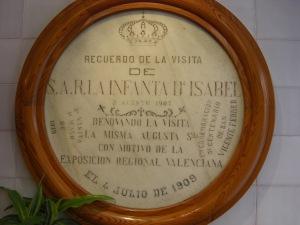 Detail of Horchatería Santa Catalina