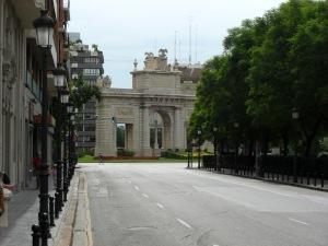Valencia's Arch of Triumph