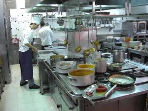 Echaurren traditional food station