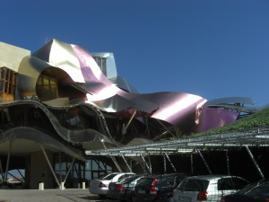 The hotel at Marqués de Riscal
