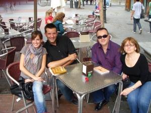 Loreto, Ramón, Juan Diego and Susan