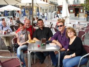 Loreto, Marty, Ramón, Juan Diego and Susan
