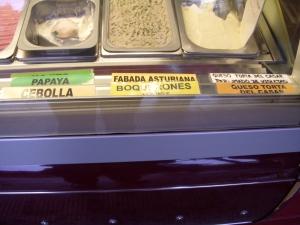 Some unique ice cream flavors